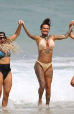 Jemma Lucy In bikini on Bondi Beach in Sydney