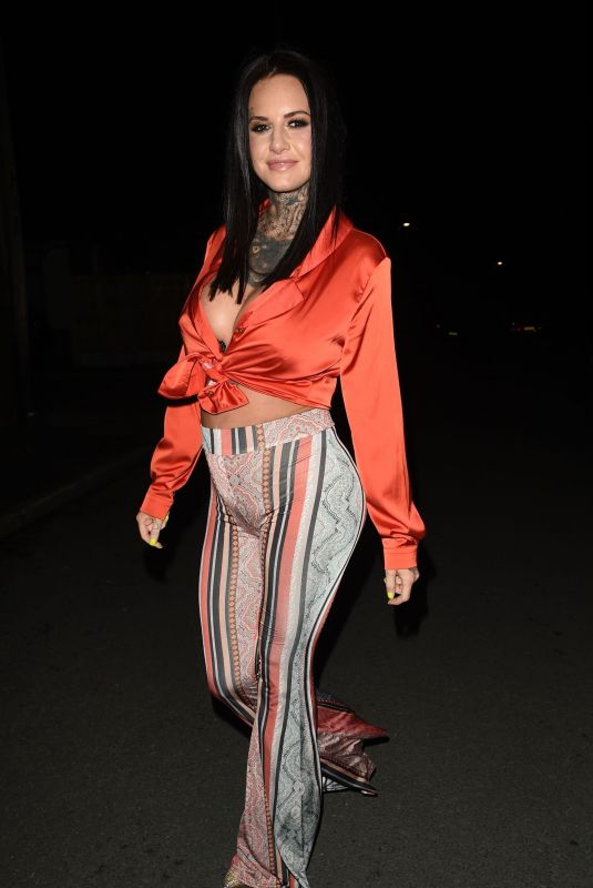 Jemma Lucy On a Night Out in Manchester