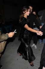 Jenna Coleman Arrives for the Vanity Fair party in Los Angeles