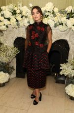 Jenna Coleman At British Vogue And Tiffany & Co. Celebrate Fashion and Film Party at Annabel's in London