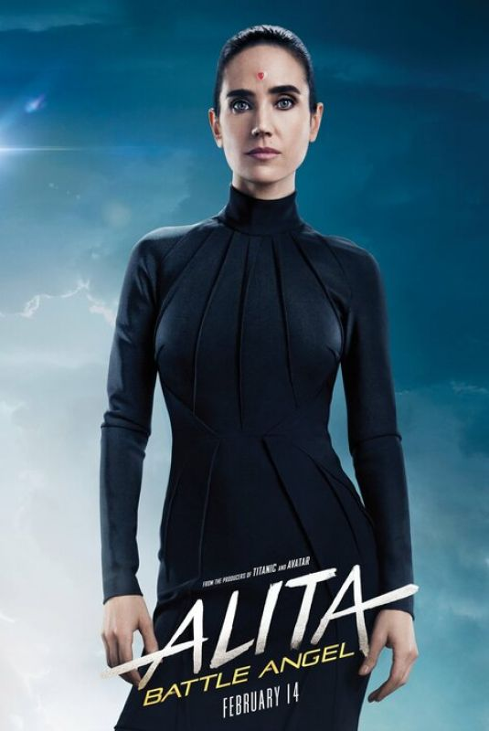 Jennifer Connelly Alita Battle angel stills and posters 2019
