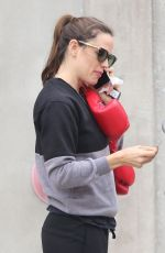 Jennifer Garner At a boxing class in Santa Monica