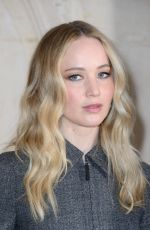 Jennifer Lawrence At Christian Dior show during PFW Womenswear F/W 2019/2020 in Paris