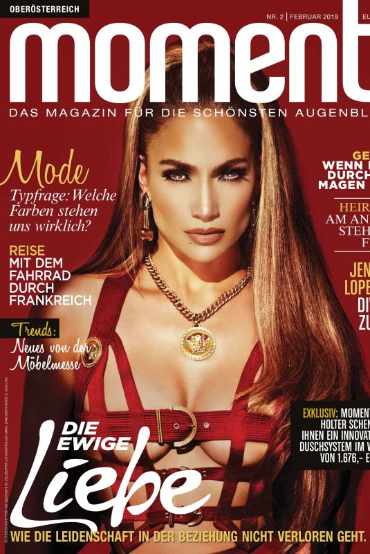 Jennifer Lopez - Moments Magazine February 2019