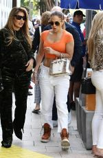 Jennifer Lopez Shopping in Miami