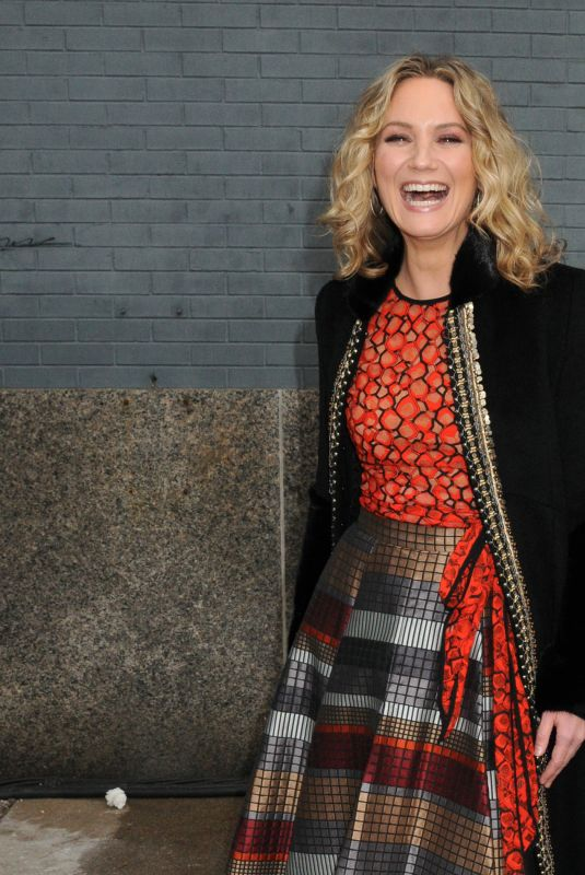Jennifer Nettles On the front row at the Bibhu Mohapatra FallWinter 2019 Runway Show in New York