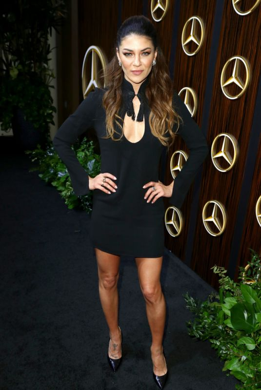 Jessica Szohr At mercedes-benz usa awards viewing party in Beverly Hills