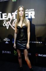 Josephine Skriver At 16th annual Super Bowl Leather & Laces Party in Atlanta