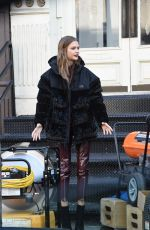 Josephine Skriver At maybelline photoshoot in NYC