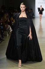 Josephine Skriver Walks the runway for the Cong Tri fashion show during New York Fashion Week: The Shows at Gallery II at Spring Studios in New York City