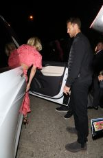 Julianne Hough and Brooks Laich show off some PDA with a long embrace while leaving the WME Talent Agency Party in Los Angeles
