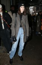 Kaia Gerber At Coach Show - New York Fashion Week