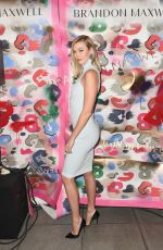 Karlie Kloss At Brandon Maxwell show during New York Fashion Week