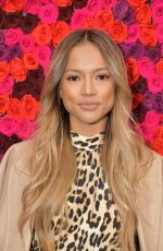 Karrueche Tran At Alice + Olivia By Stacey Bendet shot at New York Fashion Week