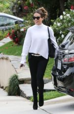 Kate Beckinsale Heading to a Super Bowl party in LA