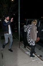 Kate Hudson and Danny Fujikawa leave The Greenwich Hotel for a night out
