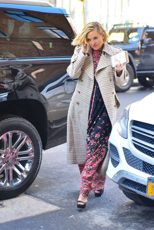 Kate Hudson Out in Manhattan in New York City
