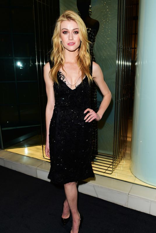 Katherine McNamara At Giorgio Armani Pre-Oscar Party in Los Angeles