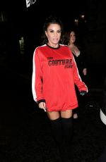 Katie Price and Kris Boyson pictured out for a night out in Liverpool