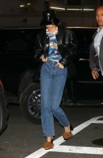 Kendall Jenner Arriving at Madison Square Garden in New York