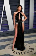 Kendall Jenner At 2019 Vanity Fair Oscar Party hosted by Radhika Jones at Wallis Annenberg Center for the Performing Arts in Beverly Hills