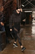 Kendall Jenner At Gotham Gym in NYC