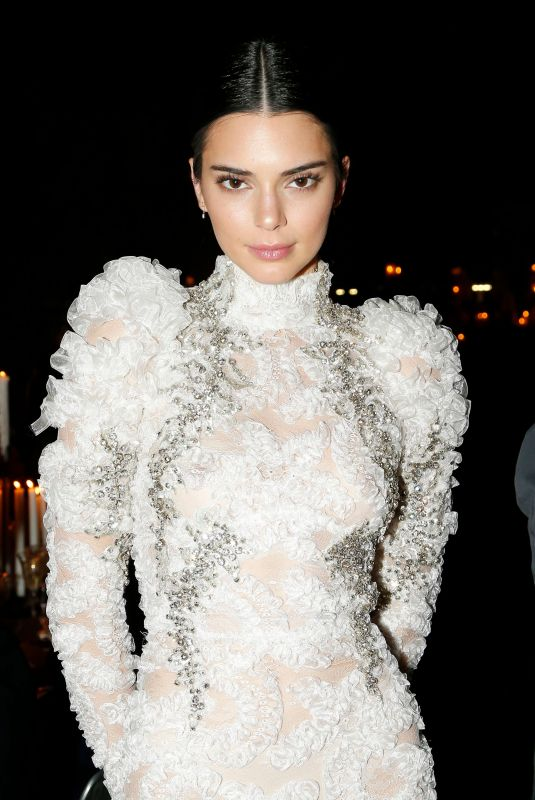 Kendall Jenner At Mert & Marcus 25 Years of Photography dinner at Milan Fashion Week