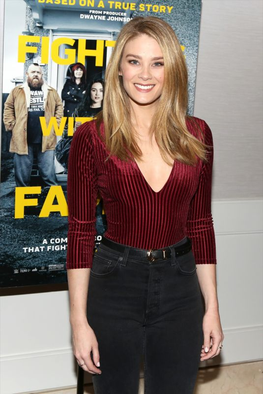 Kim Matula At Fighting With My Family - LA Tastemaker Screening at The London Hotel, Los Angeles
