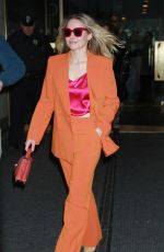 Kristen Bell At Today Show to talk about Hello Bello a new brand of baby products in NYC