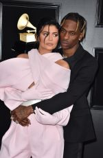 Kylie Jenner At 61st Annual Grammy Awards Los Angeles