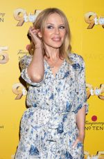 Kylie Minogue At The