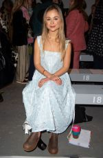 Lady Amelia Windsor At Shrimps Autumn/Winter 2019 Show, London Fashion Week