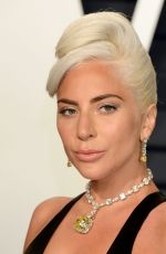 Lady Gaga At 2019 Vanity Fair Oscar Party hosted by editor Radhika Jones held at the Wallis Annenberg Center in Beverly Hills