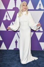 Lady Gaga At 91st Oscars Nominees Luncheon at The Beverly Hilton Hotel in Beverly Hills