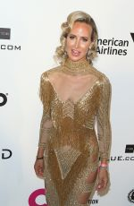 Lady Victoria Hervey At Elton John AIDS Foundation Academy Awards Viewing Party in Hollywood