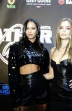 Lais Ribeiro At 16th annual Super Bowl Leather & Laces Party in Atlanta