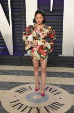 Lana Condor At 2019 Vanity Fair Oscar Party hosted by Radhika Jones at Wallis Annenberg Center for the Performing Arts in Beverly Hills