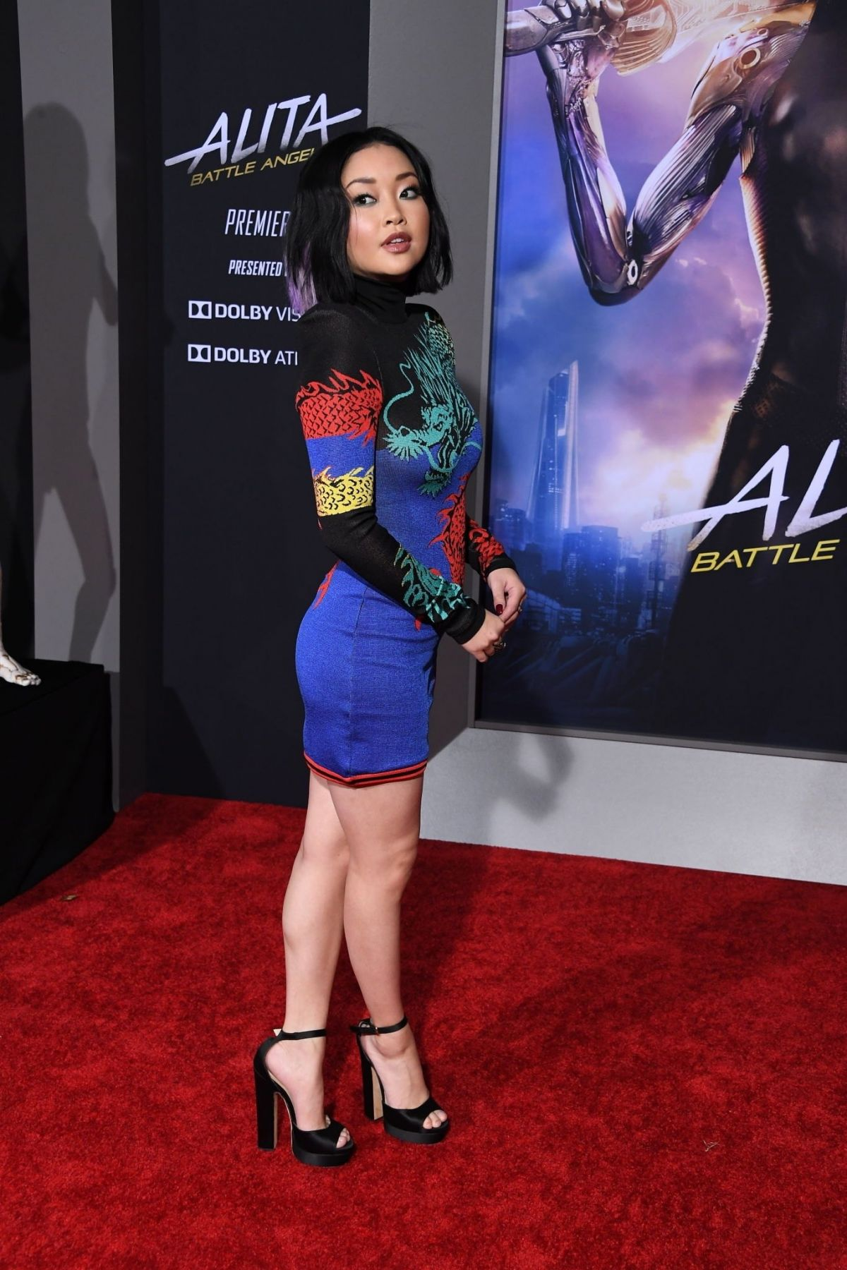 Lana Condor At Premiere Of Alita Battle Angel At Westwood Regency Theater In Los Angeles