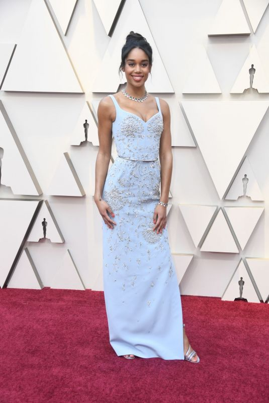 Laura Harrier At 91st Annual Academy Awards at Hollywood and Highland in Hollywood