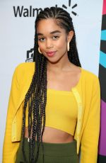 Laura Harrier At Essence Black Women In Hollywood Awards Luncheon in LA