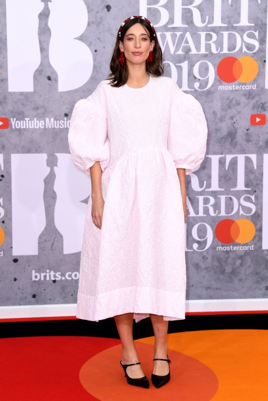 Laura Jackson At The BRIT Awards 2019 held at The O2 Arena in London