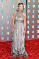 Laura Whitmore At EE British Academy Film Awards in London
