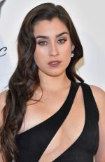 Lauren Jauregui At elton john aids foundation academy awards viewing party in WeHo
