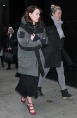 Lena Headey Out in New York City