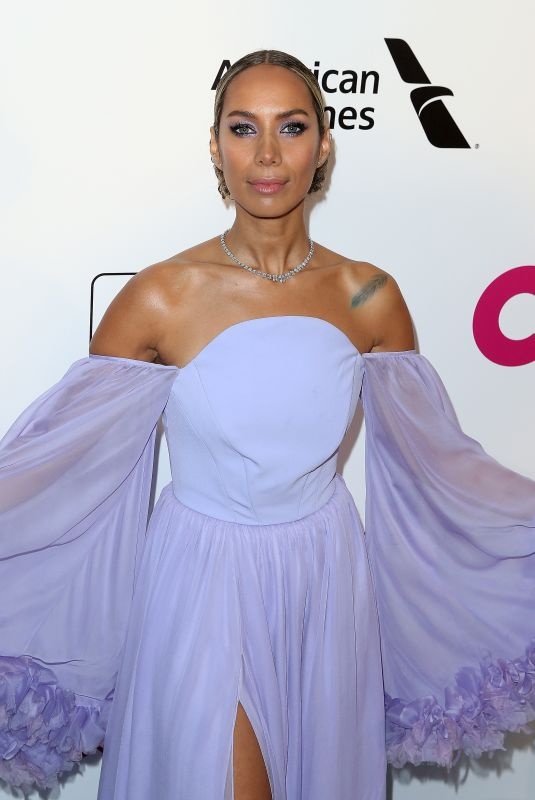 Leona Lewis At Elton John AIDS Foundation Viewing Party in Los Angeles
