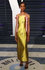 Letitia Wright At 2019 Vanity Fair Oscar Party hosted by Radhika Jones at Wallis Annenberg Center for the Performing Arts in Beverly Hills