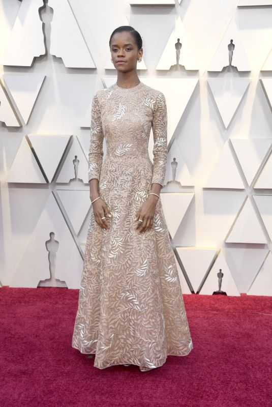Letitia Wright At 91st Annual Academy Awards at Hollywood and Highland in Hollywood