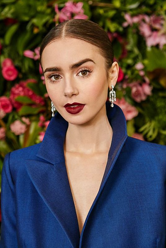 Lily Collins - Claire Rothstein for Vogue UK February 2019
