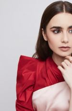Lily Collins - Photoshoot By Maarten de Boar February 2019