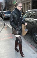 Lily-Rose Depp Shopping in New York